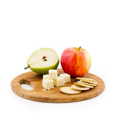 Cheese, Snacks & Fruit