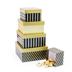 Gourmet Snack Gift Towers, Tins & Boxes