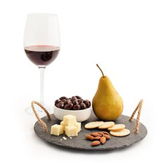 Wine, Cheese, Snacks & Fruit