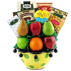 Birthday Party Fruit & Snacks Centerpiece