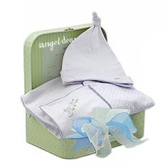 Boy's Blanket & Hat To Go Gift Set