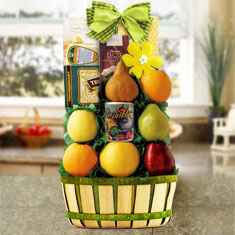 Celebration Fruit Gift Basket