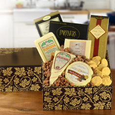 Cheese & Crackers Classic Collection Gift Basket