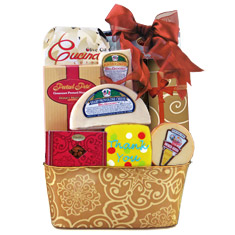 Expressions Of Gratitude Cheese & Crackers Gift Basket