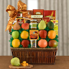 Four Seasons Fruit Gift Basket