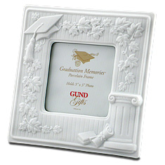 Graduation Memories Porcelain Picture Frame