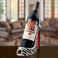 High Heel Sweet Red Wine Caddy