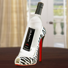 High Heel Vodka Caddy