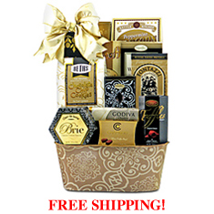 Warmest Wishes Gourmet Gift Basket