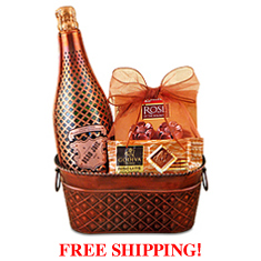 Knight to Remember Beau Joie Champagne Gift Basket