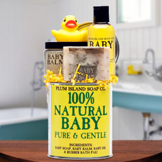 Natural Baby Spa Gift Set