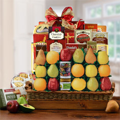 Trafalgar Square Fruit Gift Basket