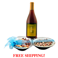 Wine & Go Nuts Party Platter
