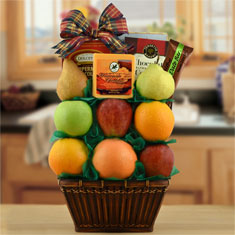 Winner's Circle Fruit Gift Basket