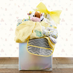 Baby's First Wardrobe Gift Basket