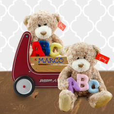 Personalized Twins Walker Wagon