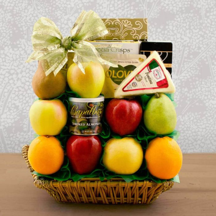 Capalbos Delicious Sugar Free and Fresh Fruit Gift Basket