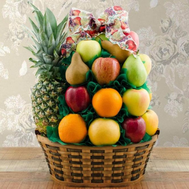 Capalbos Simply Fruit Gift Basket