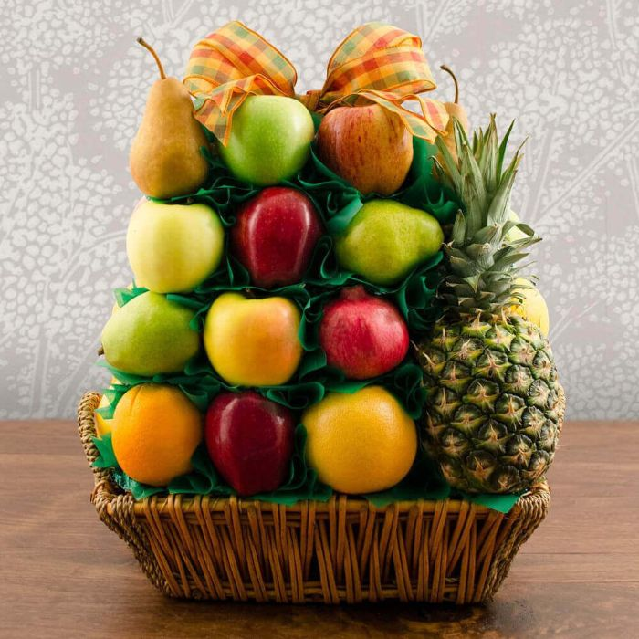 Capalbos Fruit Lovers Delight Gift Basket