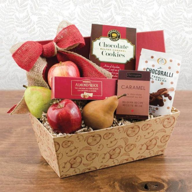Capalbos Fruit N Chocolate World Gift Box