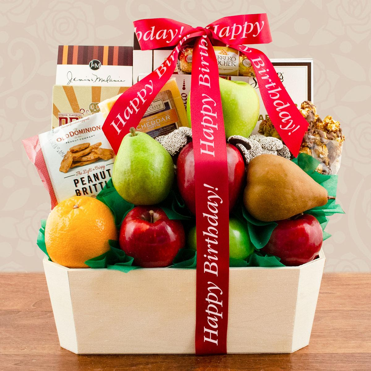 Capalbos Orchard Fruit Gift Basket - Birthday