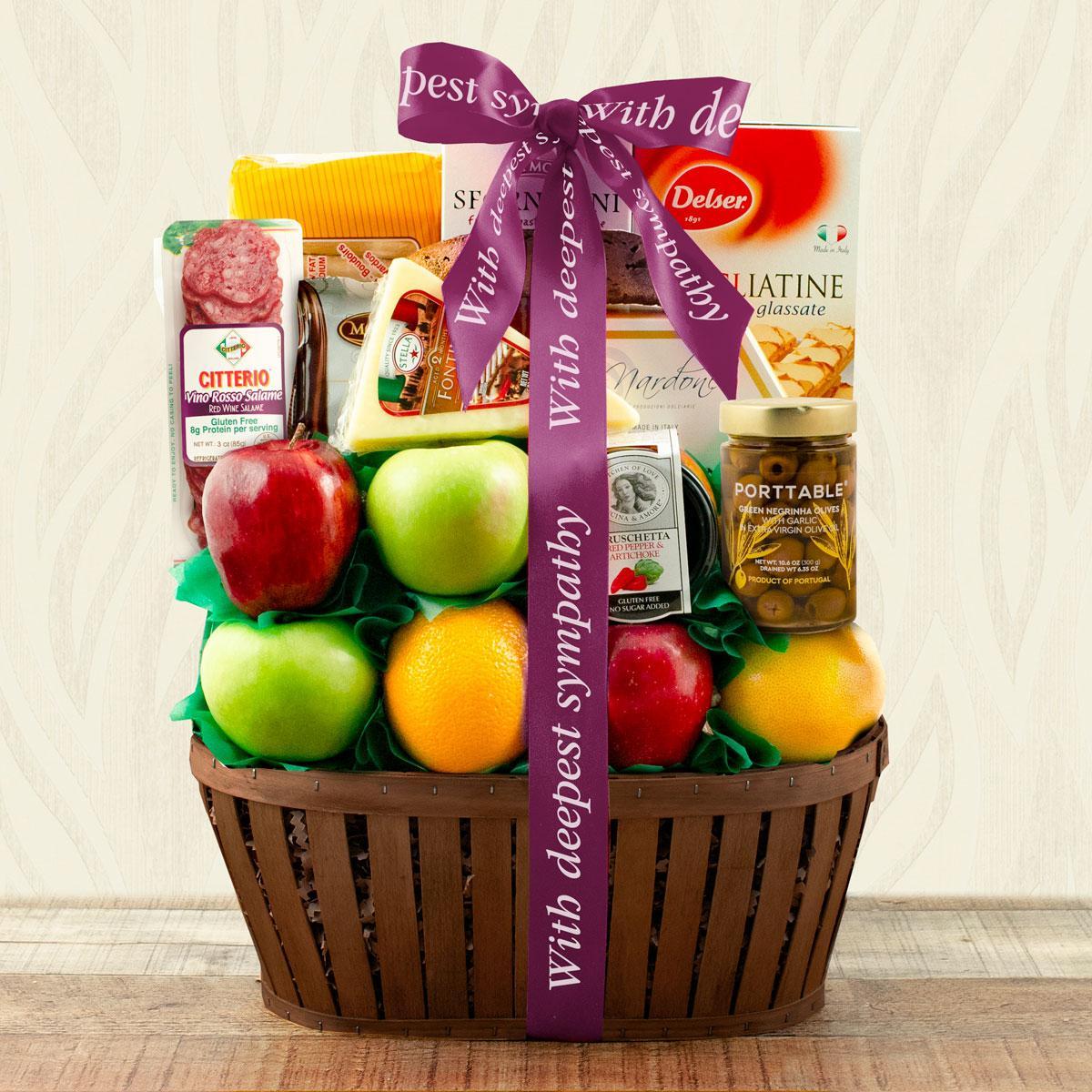 Capalbos Firenze Fruit Gift Basket - Sympathy