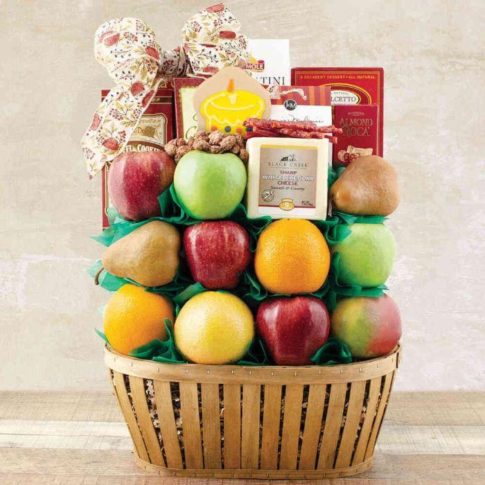 Capalbos Birthday Greetings Fruit Gift Basket