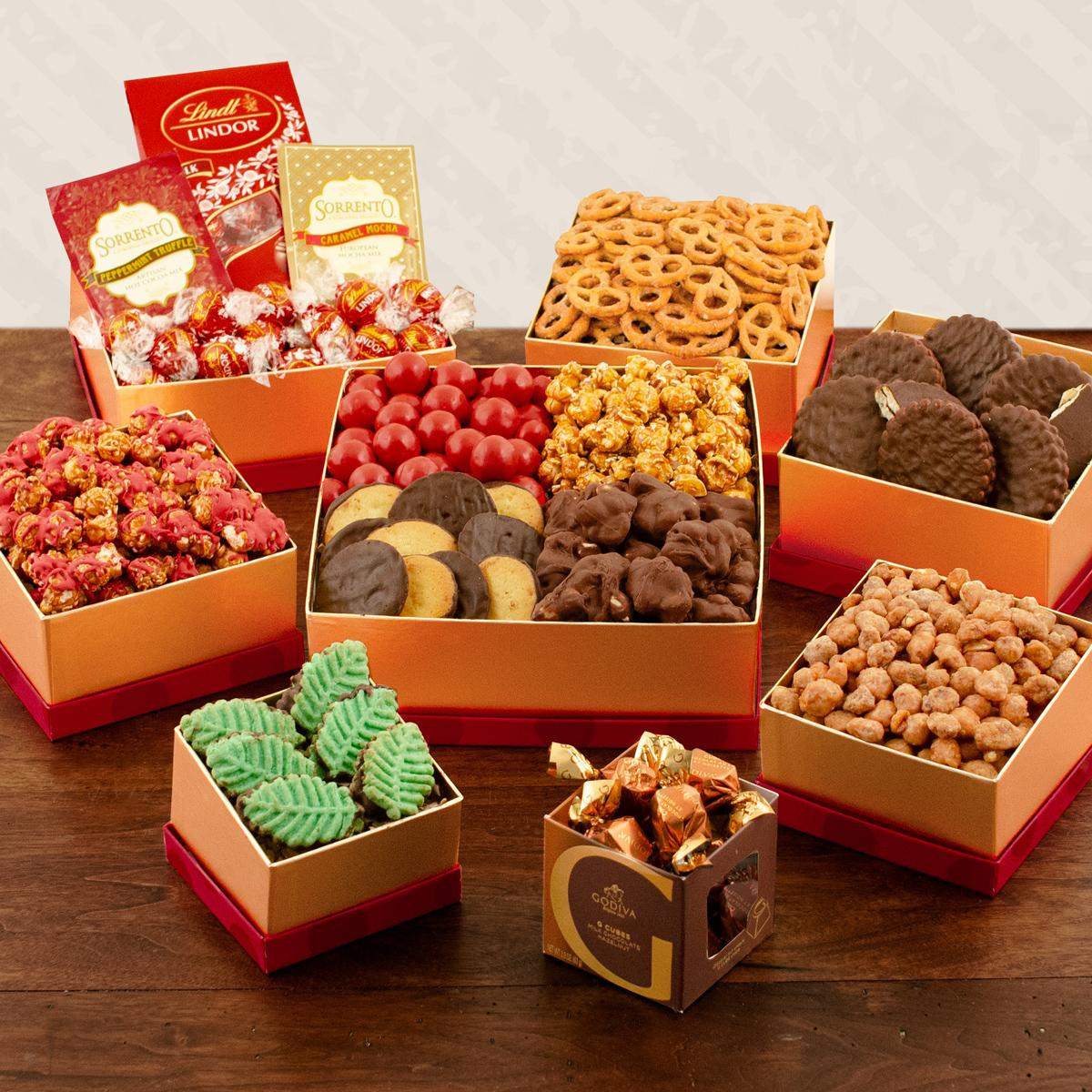 Capalbos Supreme Holiday Snack Tower Gift Set