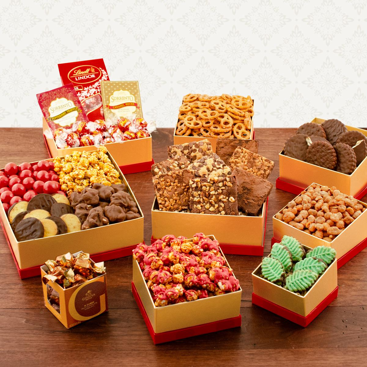 Capalbos Ultimate Holiday Snack Tower Gift Set