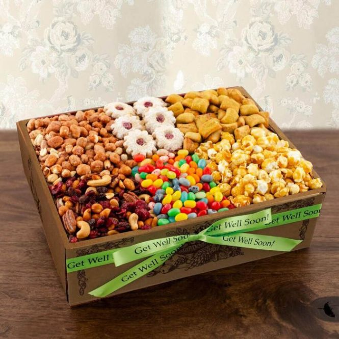 Capalbos Super Snackers Gourmet Gift Box - Get Well