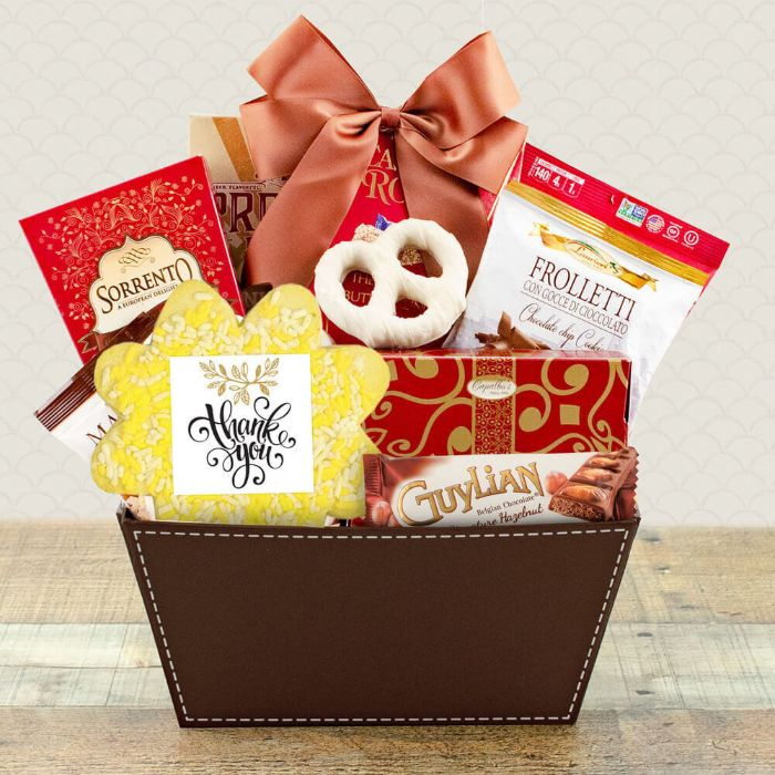 Capalbos Thanks for Everything Gourmet Gift Basket